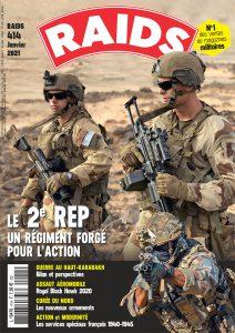 Couverture Magazine Raids n°414